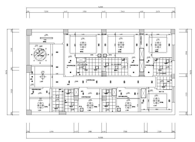 [浙江]宁波小宾馆设计装修施工图