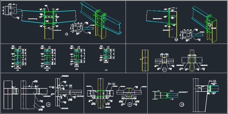 钢承板两层门式钢架厂房结构施工图_7