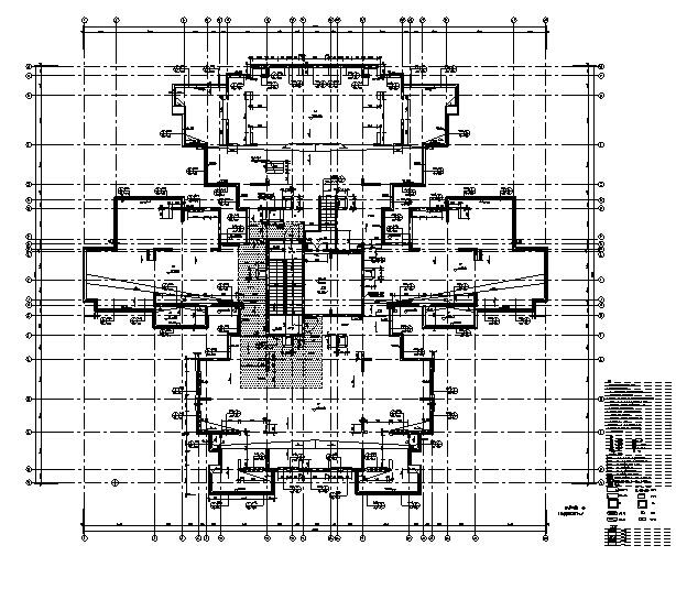 [四川]绿地29栋超高层住宅及地下室建筑施工图(正式全专业)_9