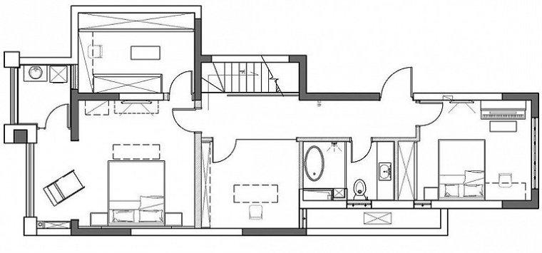 现代别墅空间-11