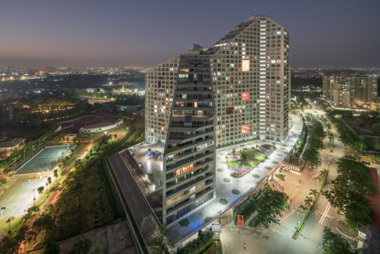 印度浦那未来之塔建筑-0046_Future_Towers_Pune_©Ossip