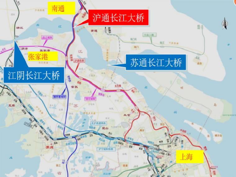 [江苏]长江大桥主要技术参数的确定汇报材料(69页)_2