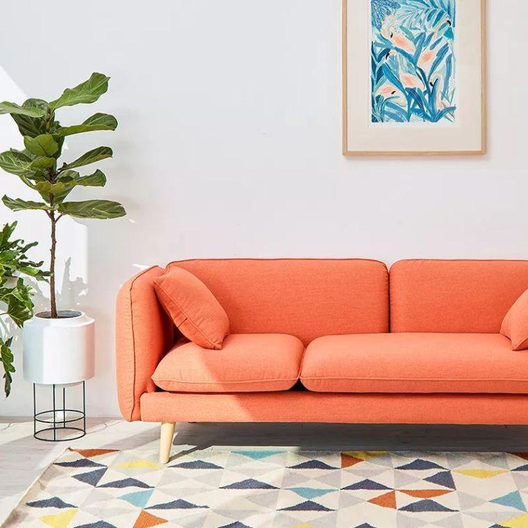 你不知道的客厅彩色沙发,给你不一样的格调。_8