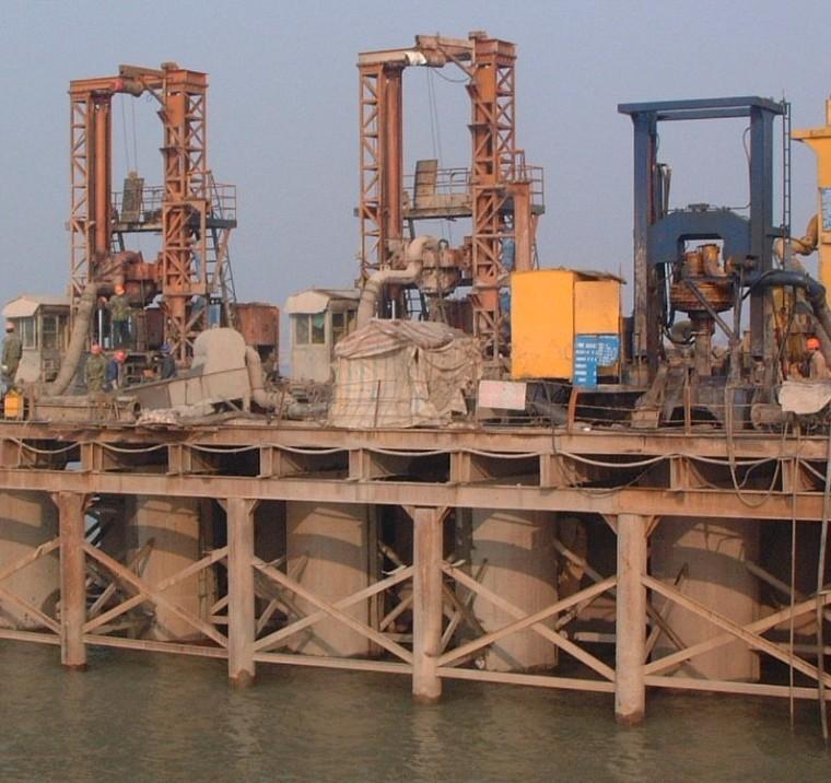 黄河大桥1标钻孔灌注桩施工开工报告