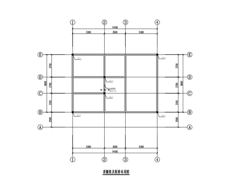 砖混结构厕所结构施工图
