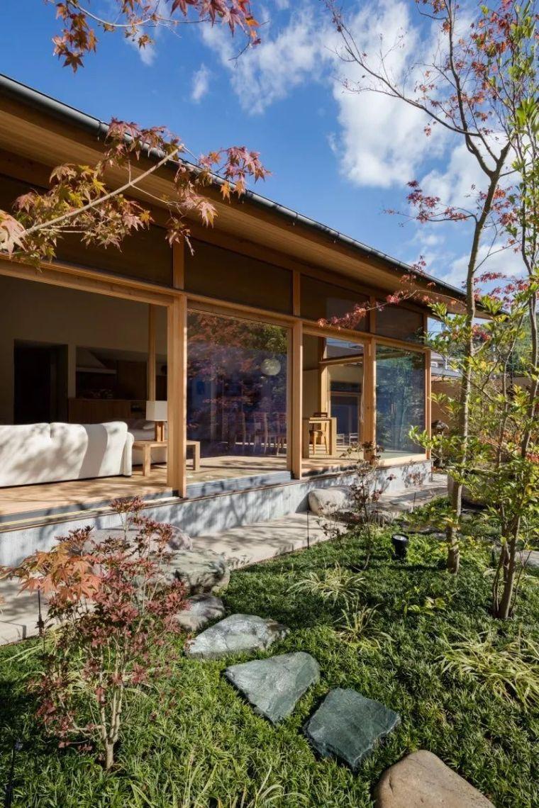 日式庭院住宅,超美。
