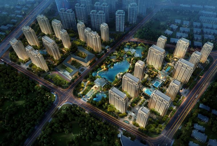 [上海]方兴闸北大都会风格国际社区概念设计文本(PPT+77页)