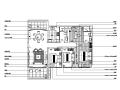 [广东]城市广场中式风样板房设计施工图(附效果图)