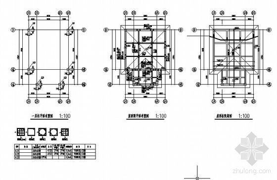 某门廊及行车道板节点构造详图
