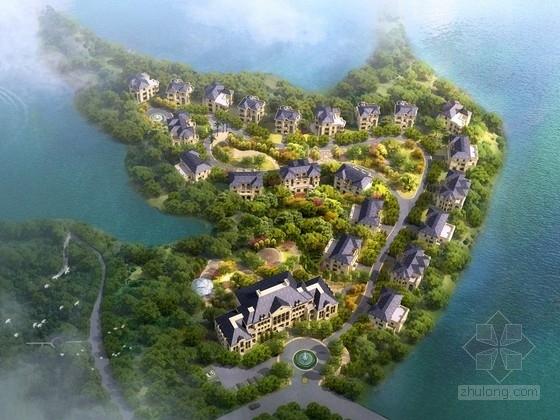 [湖北]3层原生态高档别墅旅游度假区规划设计方案文本(含CAD)