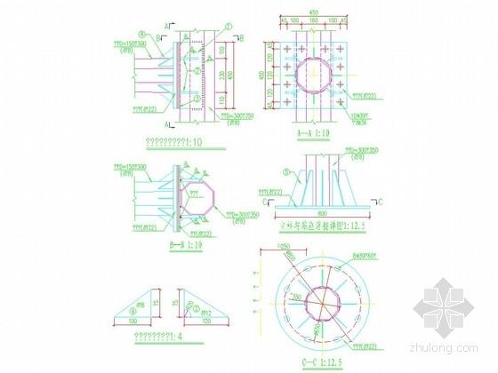 [重庆]双向六车道道路扩建项目交通工程施工图设计25张