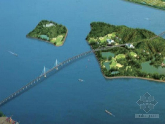 [浙江]跨海大桥及连接线工程施工组织设计129页(移动模架现浇 钢板桩围堰)