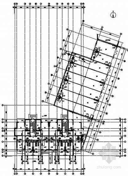某33层商住楼给排水设计图纸