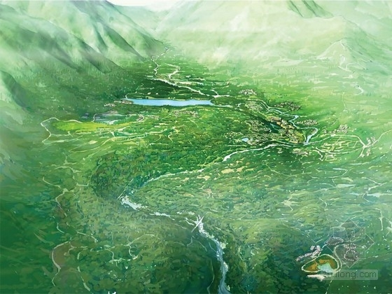 [四川]国家森林公园概念规划方案(知名设计机构)