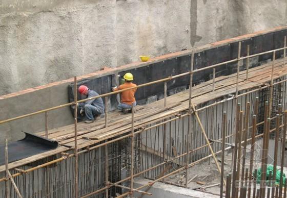 超详细防水工程施工技术图文讲义(PPT125页 图文并茂)