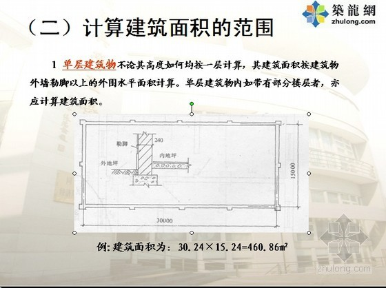 [预算入门]土建工程量计算规则PPT讲义(含实例解析) 图文并茂183页