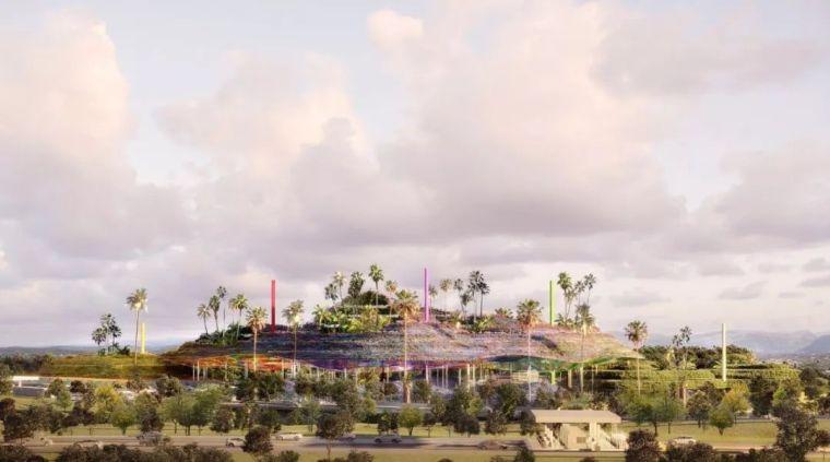 让·努维尔设计山地生态校园;Snøhetta被委托中国上海大歌剧院;