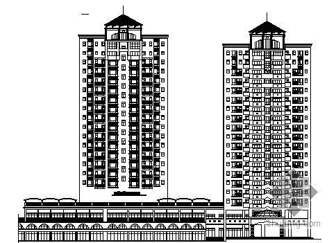 [深圳市宝安区]某小区住宅楼群人防建筑施工图