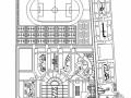 安徽省某学校新校区景观绿化工程施工图全套