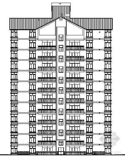 宜宾某小区2号住宅楼建筑结构施工图