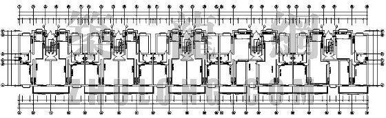 某七层住宅分户计量采暖设计图