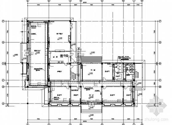 某三层综合办公楼采暖图
