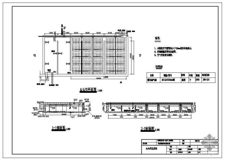 某15万立方米污水处理厂全套毕业设计