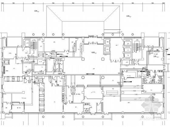 [河北]综合性二级甲等医院病房楼电气施工图纸