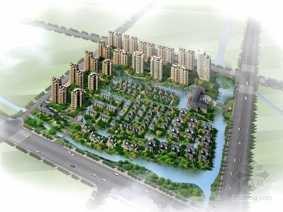 [浙江]某欧式风格小区规划及单体设计方案文本(含动画)