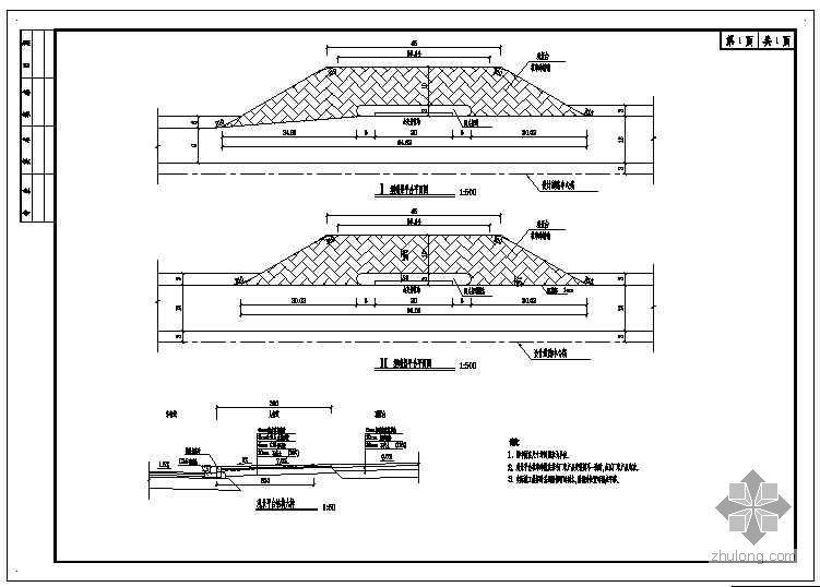 中山陵某市政配套路拓宽改造工程施工图