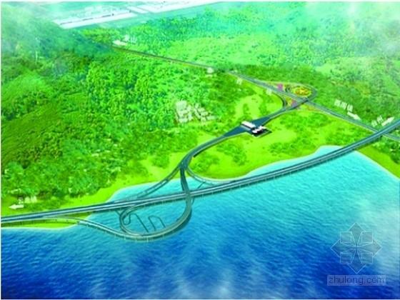 国道连接线公路隧道施工图33张CAD