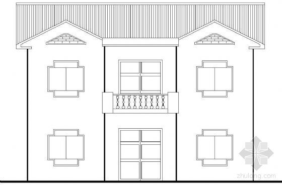 某农村二层别墅建筑方案