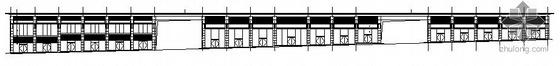 青年城花园小区商住楼独立商铺建筑结构施工图