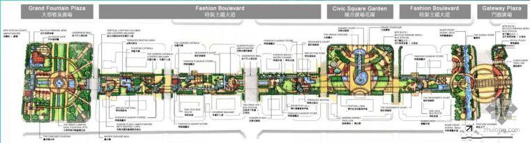 南京新城区CBD一期景观工程初步景观概念设计