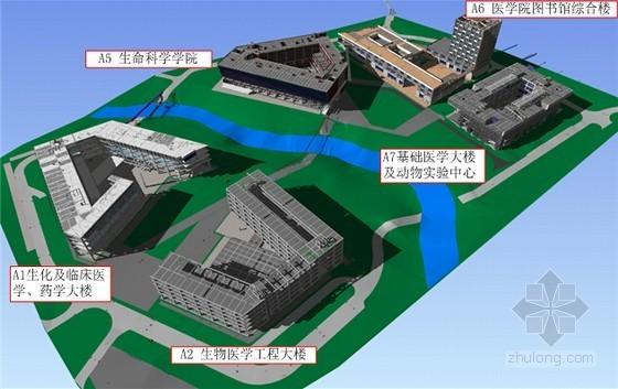 [广东]著名大学校区一期工程施工组织设计(直饮水 高空水炮)