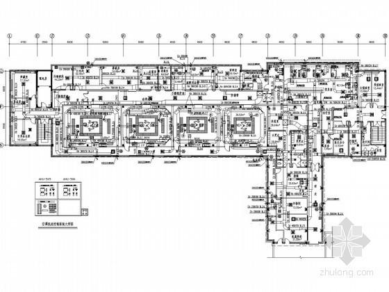 [广东]医院手术室洁净空调通风系统设计施工图