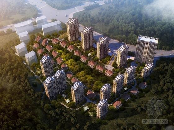 [福建]高层住宅小区规划设计方案文本(含CAD 知名设计院)