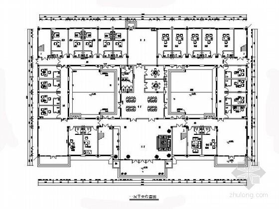 [河南]市级教育基地现代办公楼室内装修施工图(含电气图)