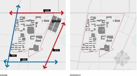 人民医院门诊楼及内科楼分析图