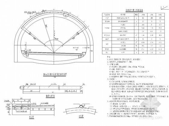 三车道隧道SM-a(3)洞口长管棚设计图