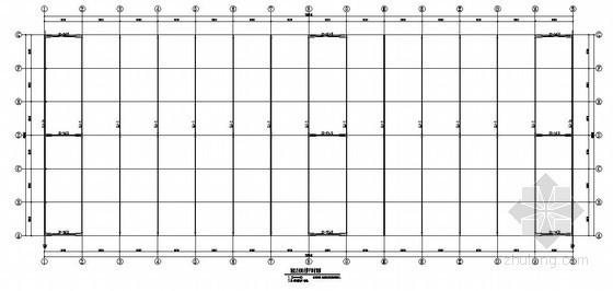 [通榆]钢结构厂房结构施工图