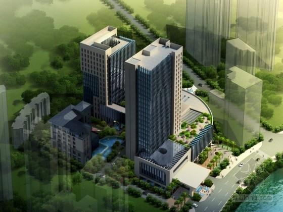 [贵州]某二十二层五星级酒店设计方案文本