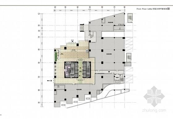 [深圳]综合性现代音乐大厦室内设计概念方案