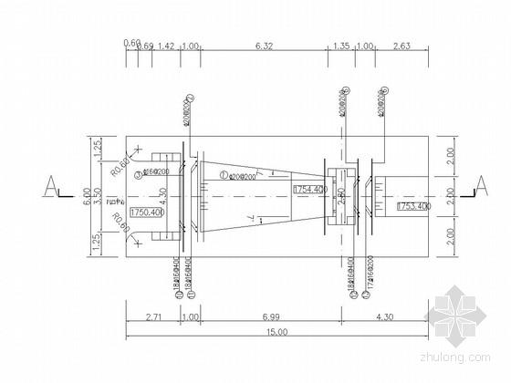 [黑龙江]水电站进水闸工程施工图