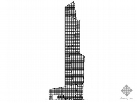 [上海]某五十三层超高大酒店建筑施工图
