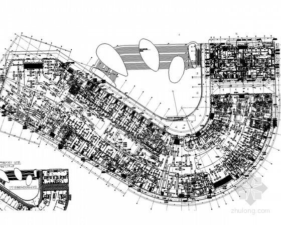 [江苏]36万平体育中心暖通空调及通风系统设计施工图(大院作品 近500张图)
