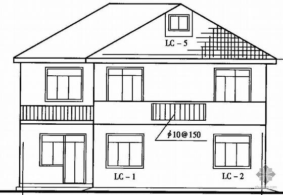 欧美二十二栋别墅建筑结构施工图