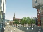 现代广场地面铺装图案资料免费下载