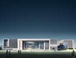 现代集团办公建筑3D模型下载