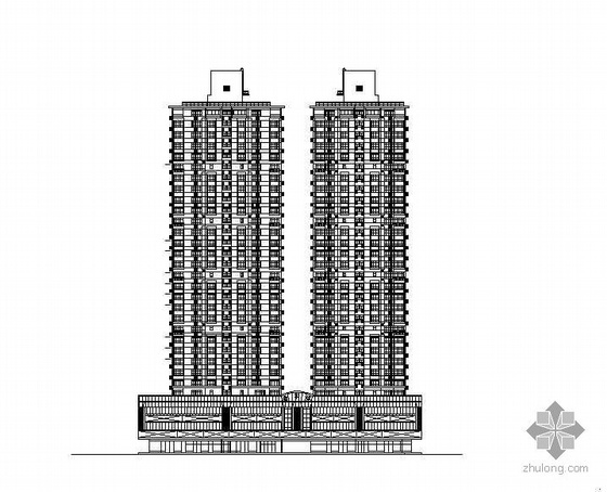 [深圳]某道路景观改造工程某大厦建筑立面改造建筑给排水施工图